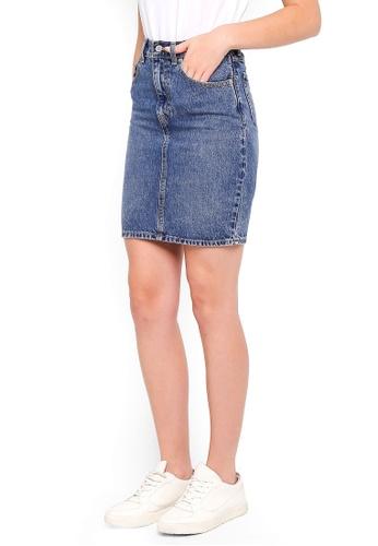 Levi's blue Mom Skirt E09DDAA2C375D9GS_1