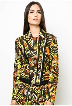 Printed Woven Blazer