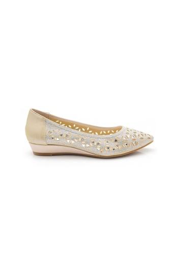 Elisa Litz gold Annie Flats (Gold) 2E3A9SH24CEE51GS_1