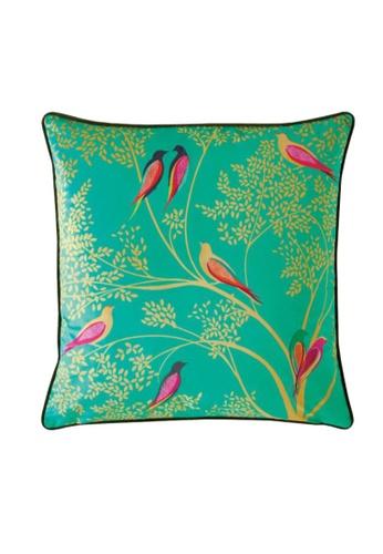 Sara Miller green Sara Miller London - Cushion 50x50cm - Green Birds B8004HL848A551GS_1