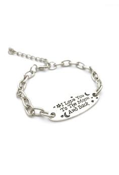 Love Quote Bracelet