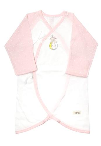 Organic mom pink Circus Bear Newborn Gown (SPRING) 92B64KA4ECDFF1GS_1