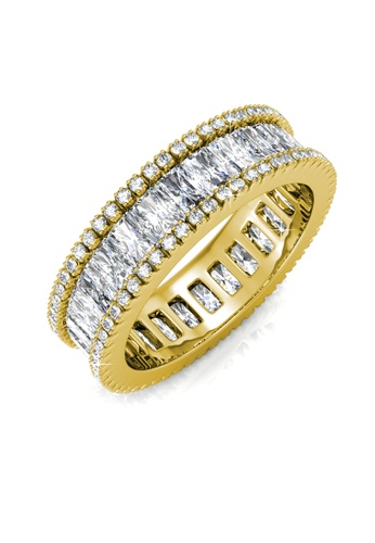 Her Jewellery gold Glamour Lock Ring (Yellow Gold) HE210AC0F1CSSG_1