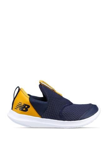 New Balance navy Kids Steps Shoes ABFA6KS3149CD8GS_1