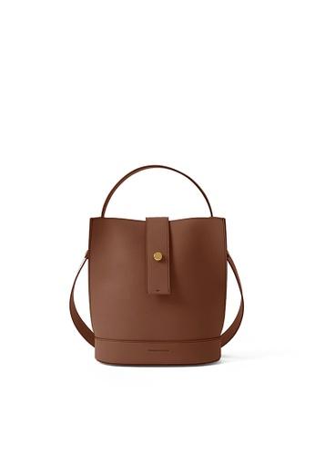 RABEANCO brown RABEANCO ARIA Shoulder Bag - Caramel 2E235AC38AD621GS_1