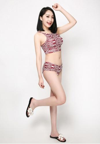 hk-ehunter multi Women's Printed Bikini Set A3434US349F44CGS_1