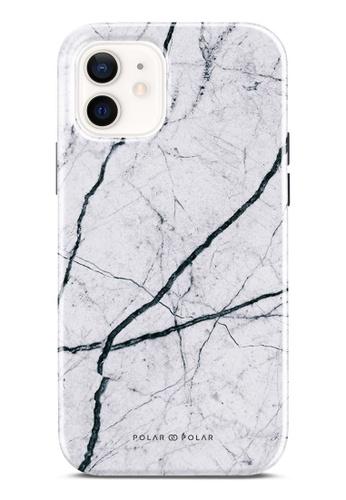 Polar Polar 白色 經典白色雲石紋雙層光面手機殼 iPhone 12 Pro / iPhone 12 C7E56AC255BEA5GS_1