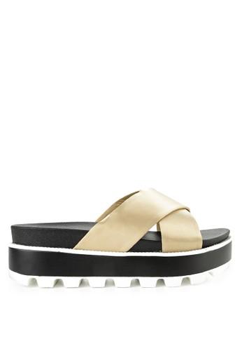 ELLE multi and gold Ladies Shoes 30154Za 81A1CSH2D9F10DGS_1