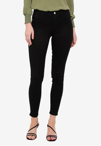Dorothy Perkins Petite Womens Black Frankie Jeans Skinny