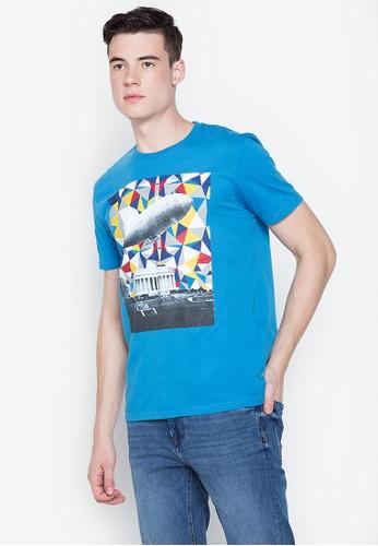 Springfield blue Graphic Tee 9062FAA1E571DEGS_1