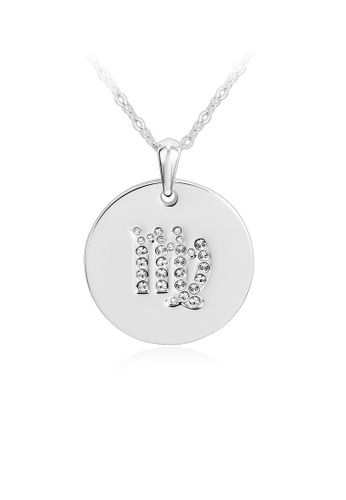 OUXI silver OUXI Zodiac Necklace Virgo OU821AC20PPJMY_1