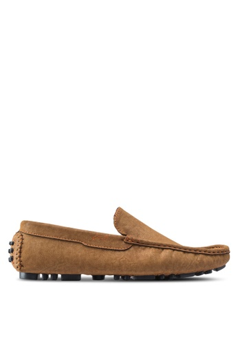 Louis Cuppers brown Casual Moccasins LO977SH71ZKAMY_1