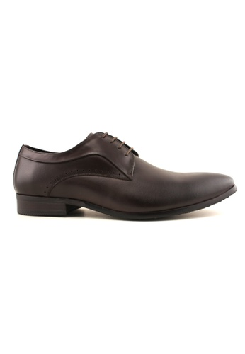 Hanson Bootmaker brown Hanson Bootmaker Lace Up Derby HA656SH74ODTSG_1