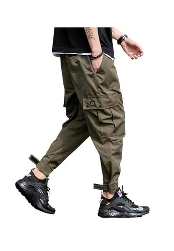 Twenty Eight Shoes Tapered Cargo Pants 61831518 FCA8CAAEEBC7CAGS_1