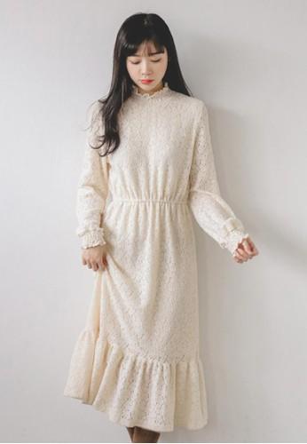 淑女風蕾絲連衣裙, 服飾, 長洋esprit 澳門裝