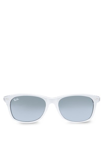 Nezalora時尚購物網評價w Wayfarer 金屬感太陽眼鏡, 飾品配件, 飾品配件