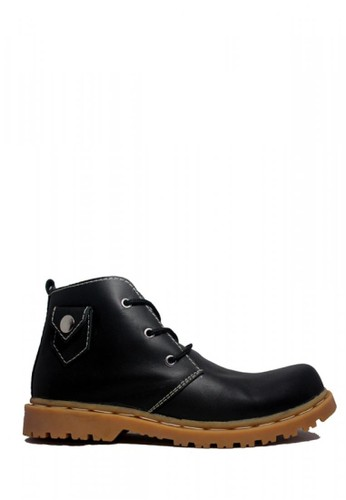 Cut Engineer black Cut Engineer Safety Boots Lacoste Genuine Leather Black 03011SHD9E3B8EGS_1