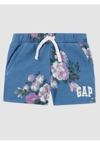 GAP blue Kids Logo Shorts 0B778KA184C209GS_1