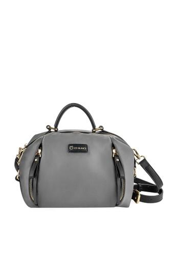 CO BLANC grey CO BLANC - Top Handle with Sling Boston Bag 58819AC682700BGS_1