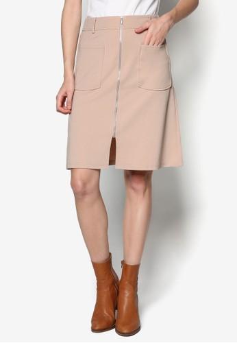雙口袋A 字短裙, 服飾, 裙esprit hk store子