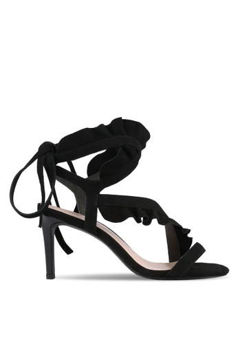 House of Avenues black Ruffled Heels HO685SH0RRBXMY_1