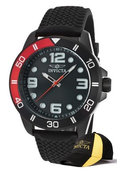 Pro Diver Men 45mm Case Watch 21852 with FREE Baseball Cap