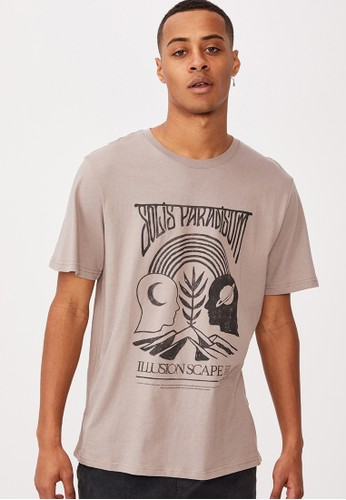 Cotton On purple Tbar Art T-Shirt F0F4FAAA0788EAGS_1
