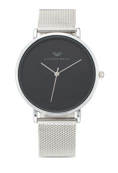 221df93b62 Victoria Walls Watches silver Designer Watch-Elegant Milanese Mesh Strap  0D29DACFE3CC93GS 1