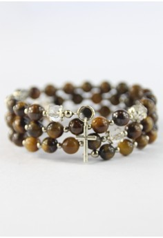 Tiger's Eye Rosary Bracelet