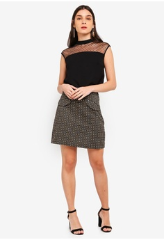 b88c8561ff0cf4 20% OFF ZALORA Pockets Details Skirt S  29.90 NOW S  23.90 Sizes XS S M L XL