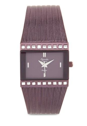 Alexandre Christie purple Alexandre Christie Jam Tangan Wanita - Purple - Stainless Steel - 2561 Purple AL709AC0UGLLID_1