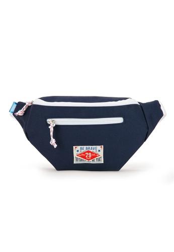 Peeps navy Vivid Waist Bag F13EFAC4E3774CGS_1