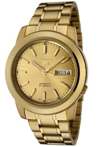 Seiko gold Seiko 5 Automatics 21 Jewels SNKE56K1 Stainless Steel Gold 5AFEBAC6EEE0AFGS_1