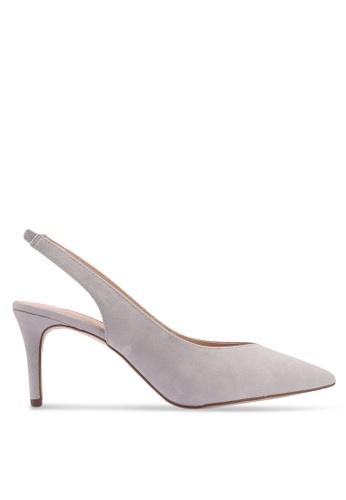 Dorothy Perkins 灰色 Grey Essie '80s Court Heels D6164SHBC851EEGS_1