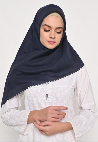 My Daily Hijab navy S4 Voal Zaffron Lasercut Stupa Navy 17BB4AA3B6AD7EGS_1