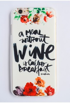 A Meal Without Wine Soft Case for iPhone 6
