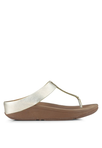 Fitflop gold Barrio Sandals FI522SH0S6W2MY_1