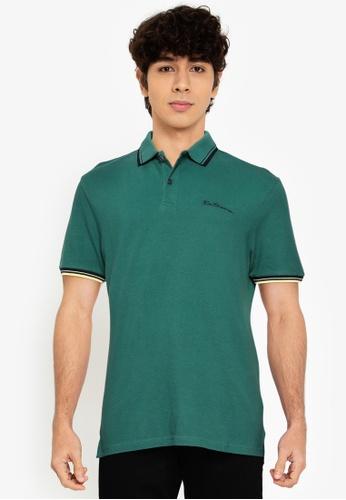 Ben Sherman green Signature Polo 948CEAA884FC72GS_1