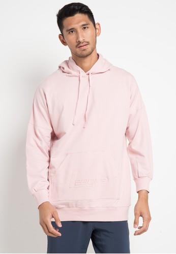 League pink Swag Hoodie BDE21AA23F6676GS_1