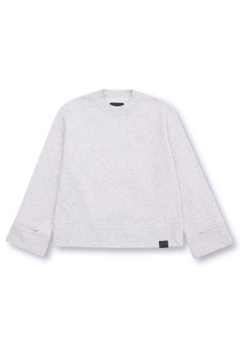 MUSIUM DIV grey Crewneck sweatshirt 11509AAC126F33GS_1