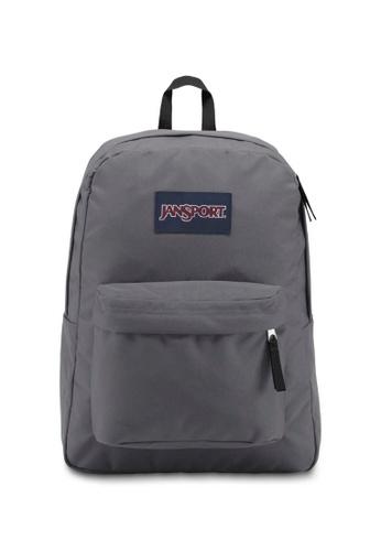 Jansport grey Jansport Superbreak Backpack Deep Grey - 25L 956A5ACD62859FGS_1