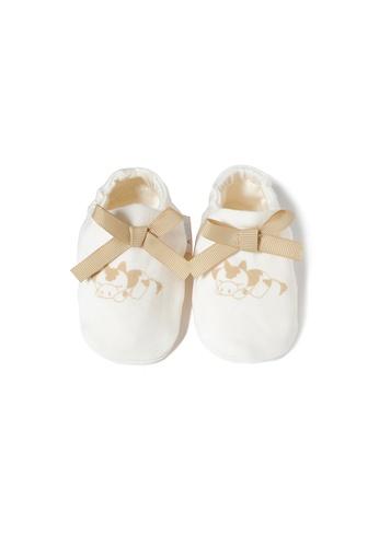Vauva white Vauva My MY Milk Fiber Baby Girls Ribbon Socks 9D5B4KA95A42FDGS_1