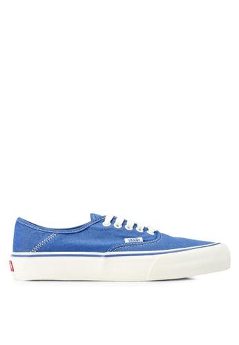 aaec004287 VANS blue Authentic Surf Salt Wash Sneakers F32F7SHDC18789GS 1