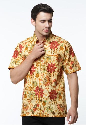 Waskito Hem Batik Katun - HB 27208 - Yellow