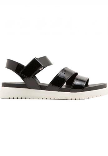 Deraine Shoes black Deraine Platform Sandals (Black) DE489SH0SZ7EMY_1