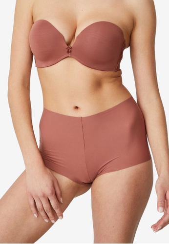 Cotton On Body brown The Invisible Shorty Briefs A834BUS1CED2A4GS_1