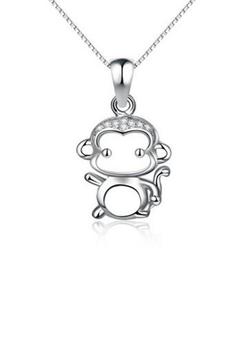LYCKA silver LPP88102 S925 Silver Necklace 1FF29AC5D74245GS_1