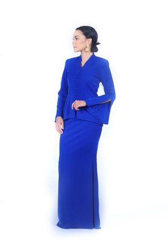 Rumah Kebaya Bangsar blue Maryam Kebaya C1DFAAA3BA31F1GS_1
