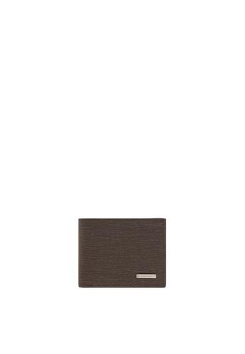 SEMBONIA brown SEMBONIA Leather Wallet (Dark Brown) SE598AC0RBHCMY_1