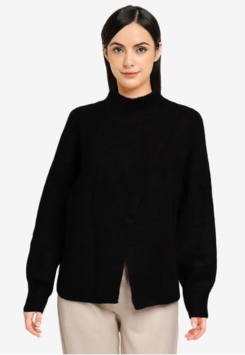LOWRYS FARM black Casual Knit Sweater C04F0AA1A08805GS_1